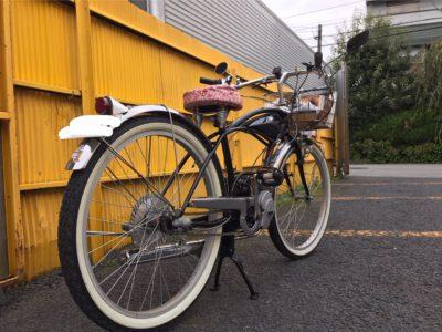 自転車⁉ バイク⁉(笑)