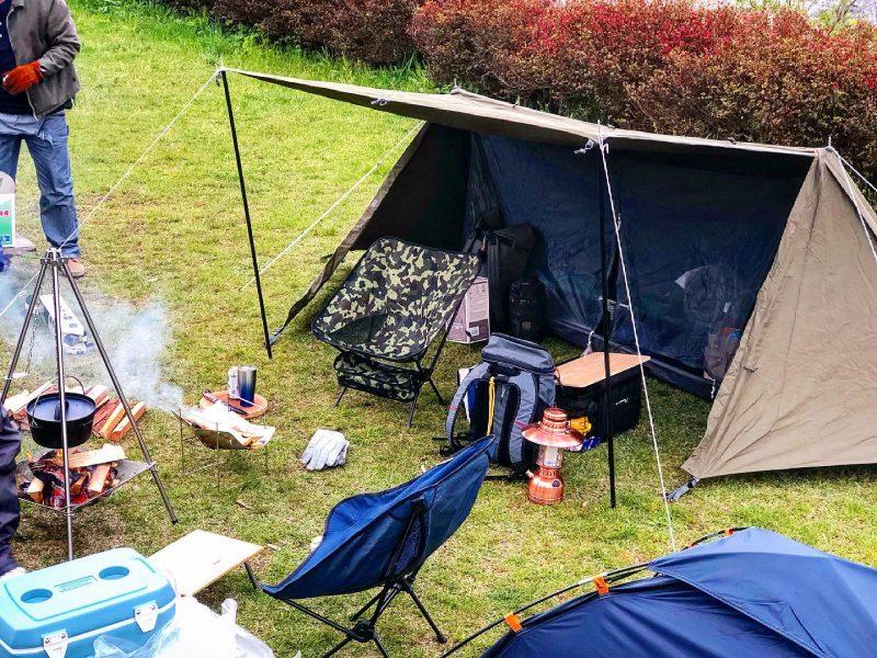 キャンプへ行ってきました♪