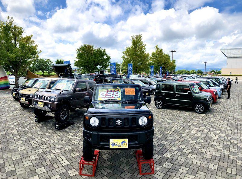 今週末はビッグウイングにて中古車フェア開催!