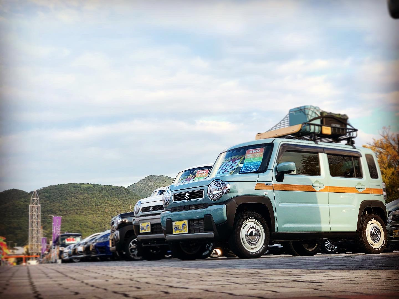 今週末はビッグウイングにて中古車フェアが開催!